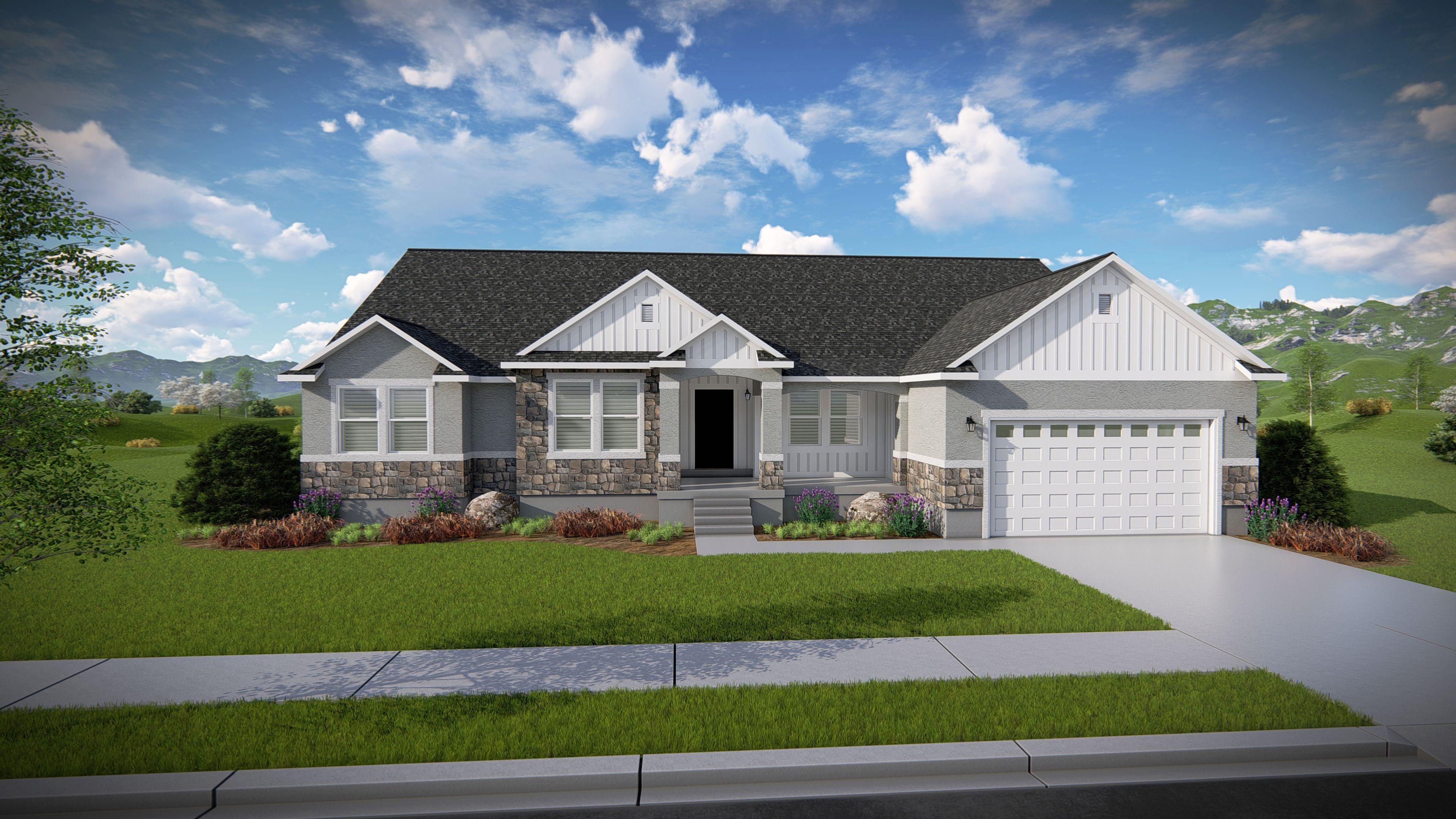 Olivia Rambler House Plans Basement House Plans Rambler House