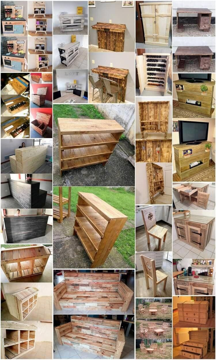 Astounding Wood Pallet Recycling Ideas #Palletfurniture ...