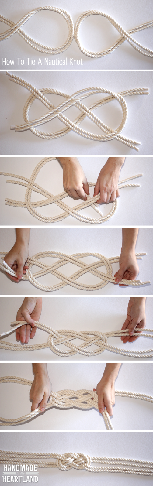 Nautical crafts to make - Diy Nautical Knot Rope Necklace