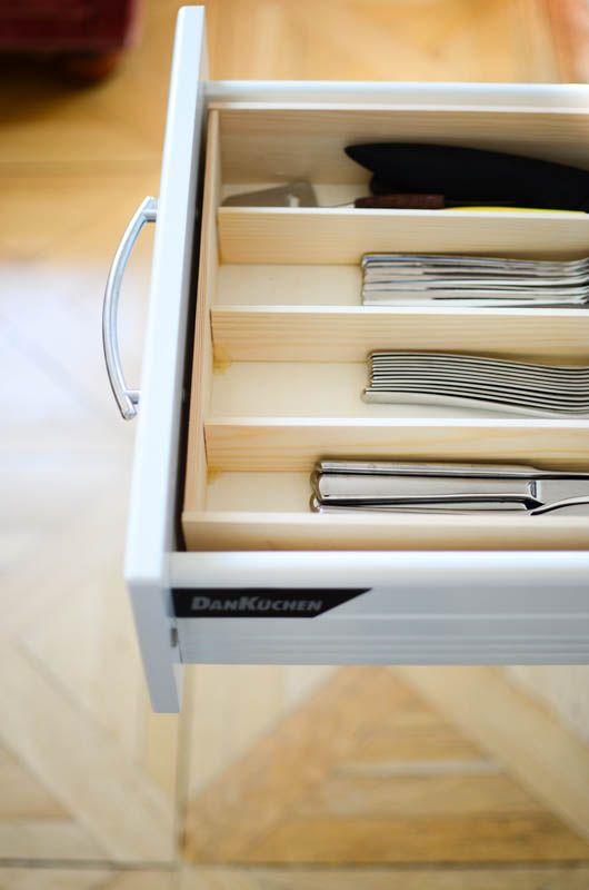 diy schubladenordnung mit holz besteckkasten schubladen und einfache diy. Black Bedroom Furniture Sets. Home Design Ideas