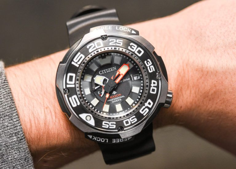 dd25dec05 Citizen Eco-Drive Promaster Professional Diver 1000m Watch Hands-On Hands-On