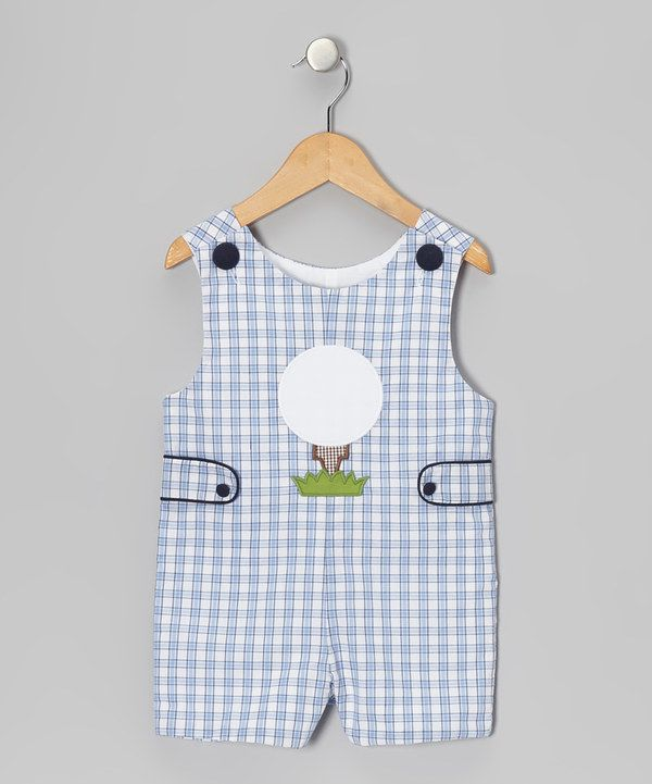 ee5faf898 Take a look at this Blue Plaid Golf Tee John Johns - Infant & Toddler on zulily  today!