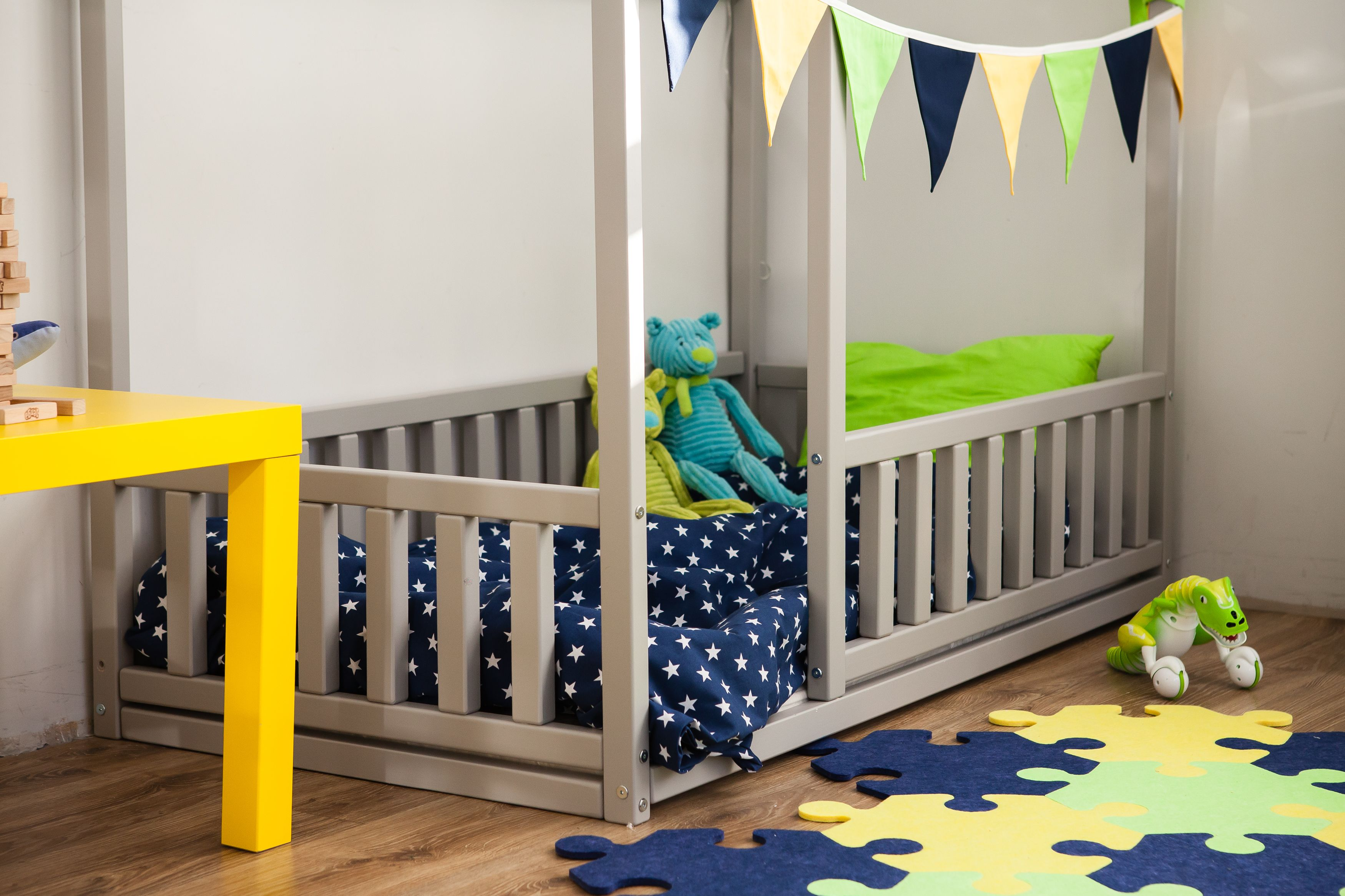 Scandinavian Design Baby Room Interior Baby Bed Or Children Bed