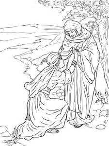 Preschool Coloring Pages Ruth And Naomi Coloring Pages Raskraski