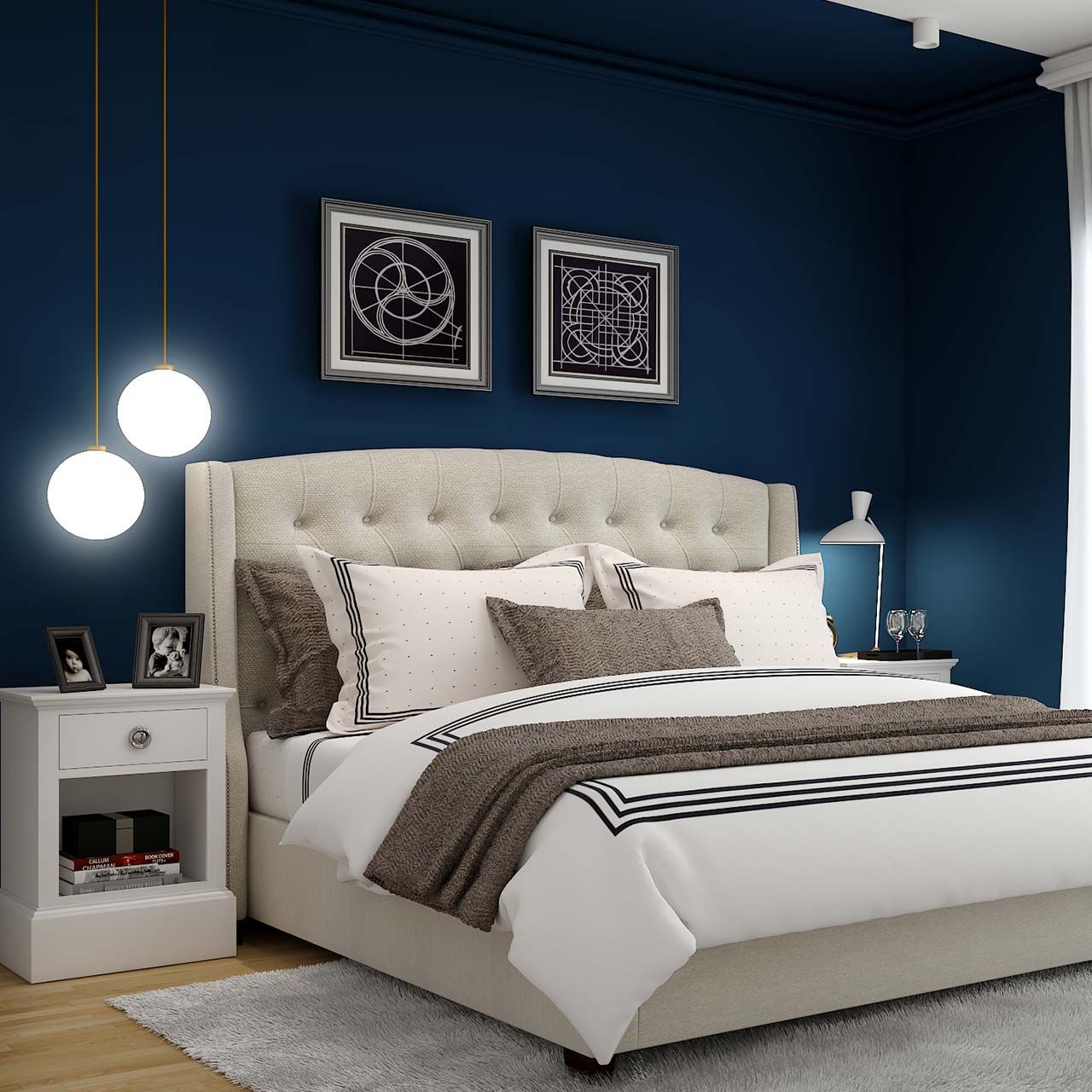 Latest Bedroom Wall Design and Decor Ideas Design Cafe Decor, Plant Decor,  Diy Home decor, Bedroom Decor, Living R… in 2020 | Bedroom wall designs,  Bedroom wall, Home decor