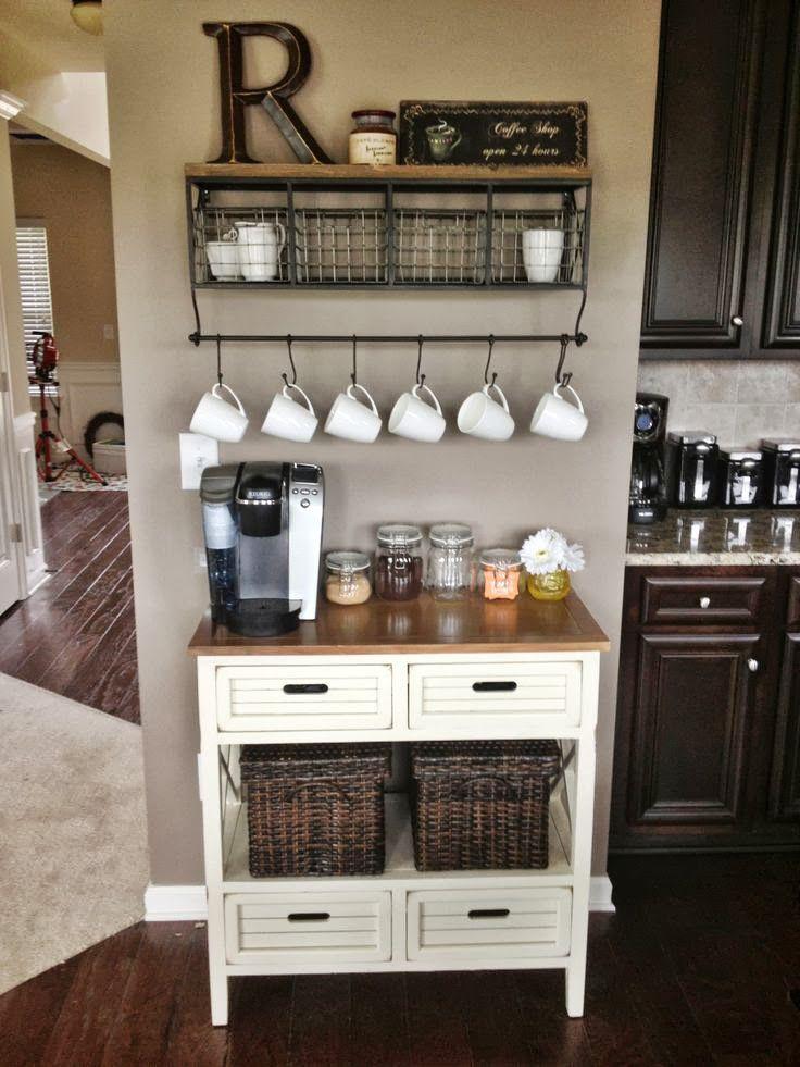 Dream Home Coffee Bar Inspiration