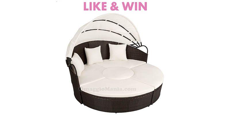 Vinci gratis un divano prendisole TecTake - http://www.omaggiomania.com/contest/vinci-gratis-un-divano-prendisole-tectake/