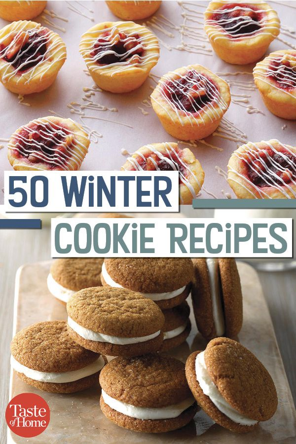 Photo of 50 Cookie Recipes to Enjoy All Winter Long
