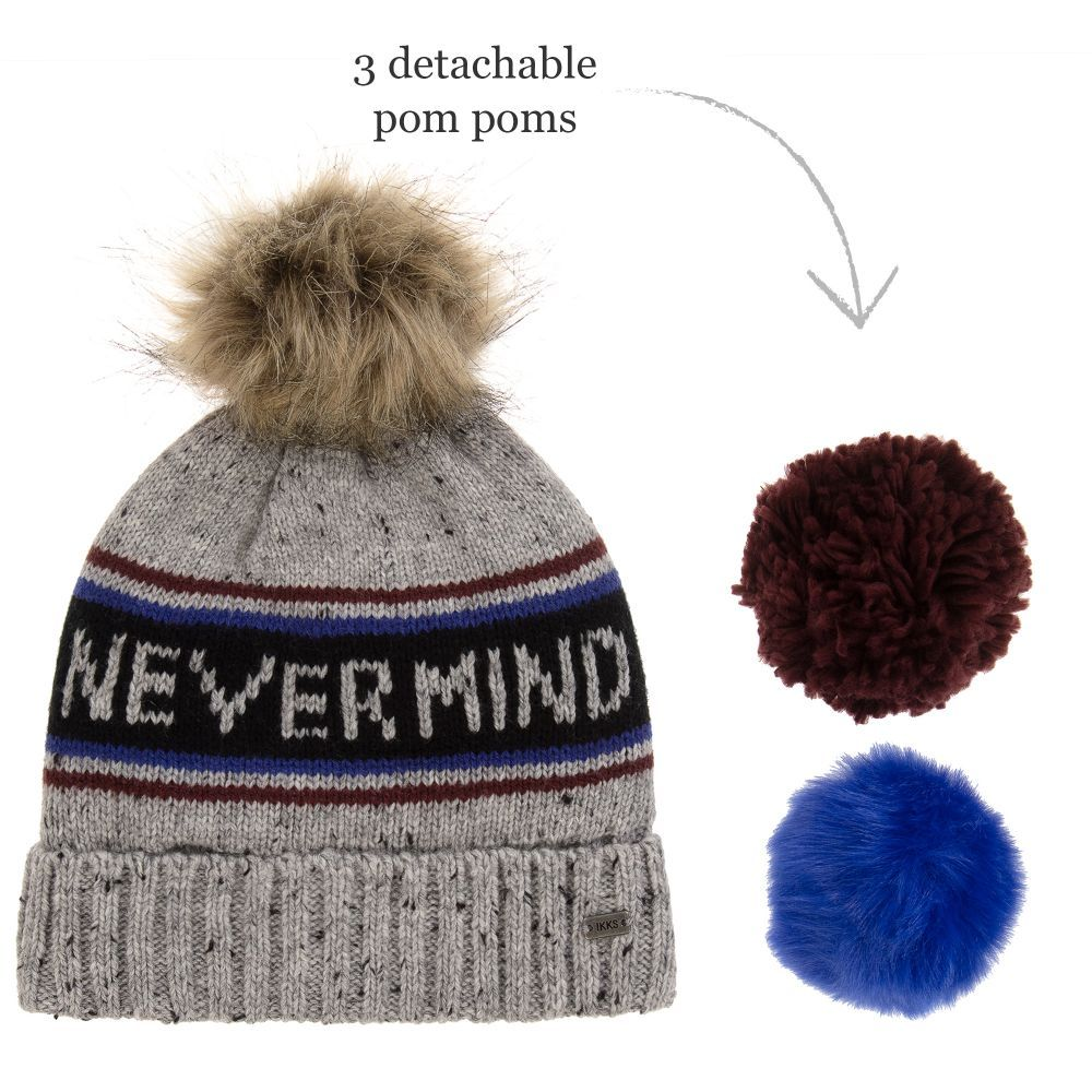 9b67f2ee2fa hats for women nordstrom  ikks boys knitted pom pom hat childrensalon