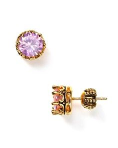 Juicy Couture Princess Stud Earrings-So cute for a young girl ... 1d34ca6a6