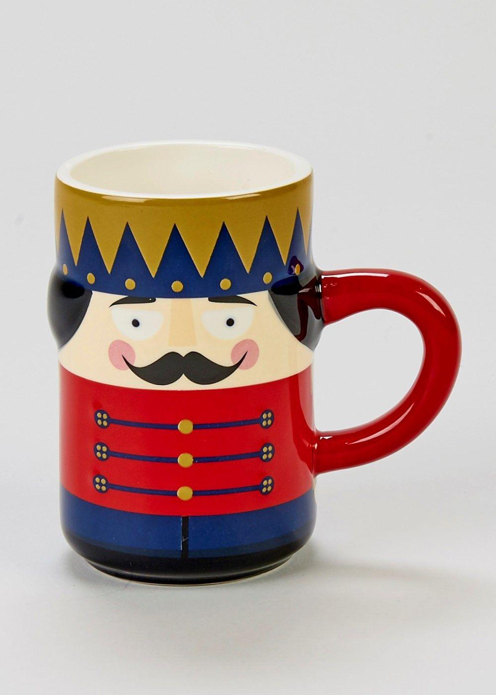 Nutcracker Mug 12cm X 8cm Matalan Mugs Shop Decoration Nutcracker