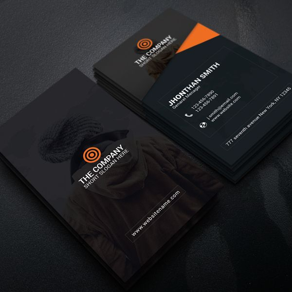 Creaive Corporate Business Card Design