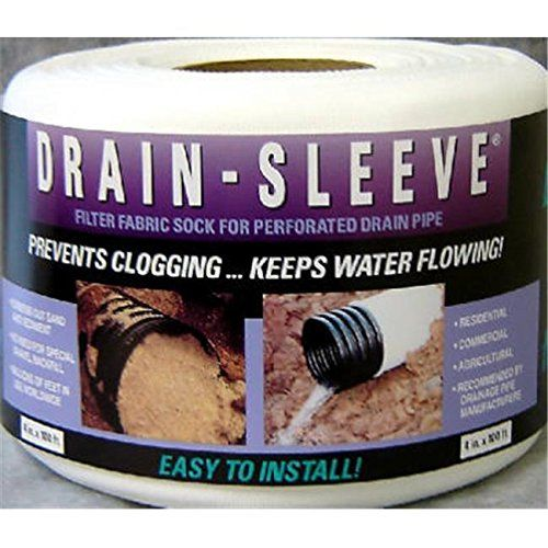 Advanced Drainage 0420ha 4 In X 100 Ft Drain Sleeve Rmg4h4e54 E4r46t32575440 Details Can Be Found By Clicking On The Imag Drainage Baking Ingredients Drain