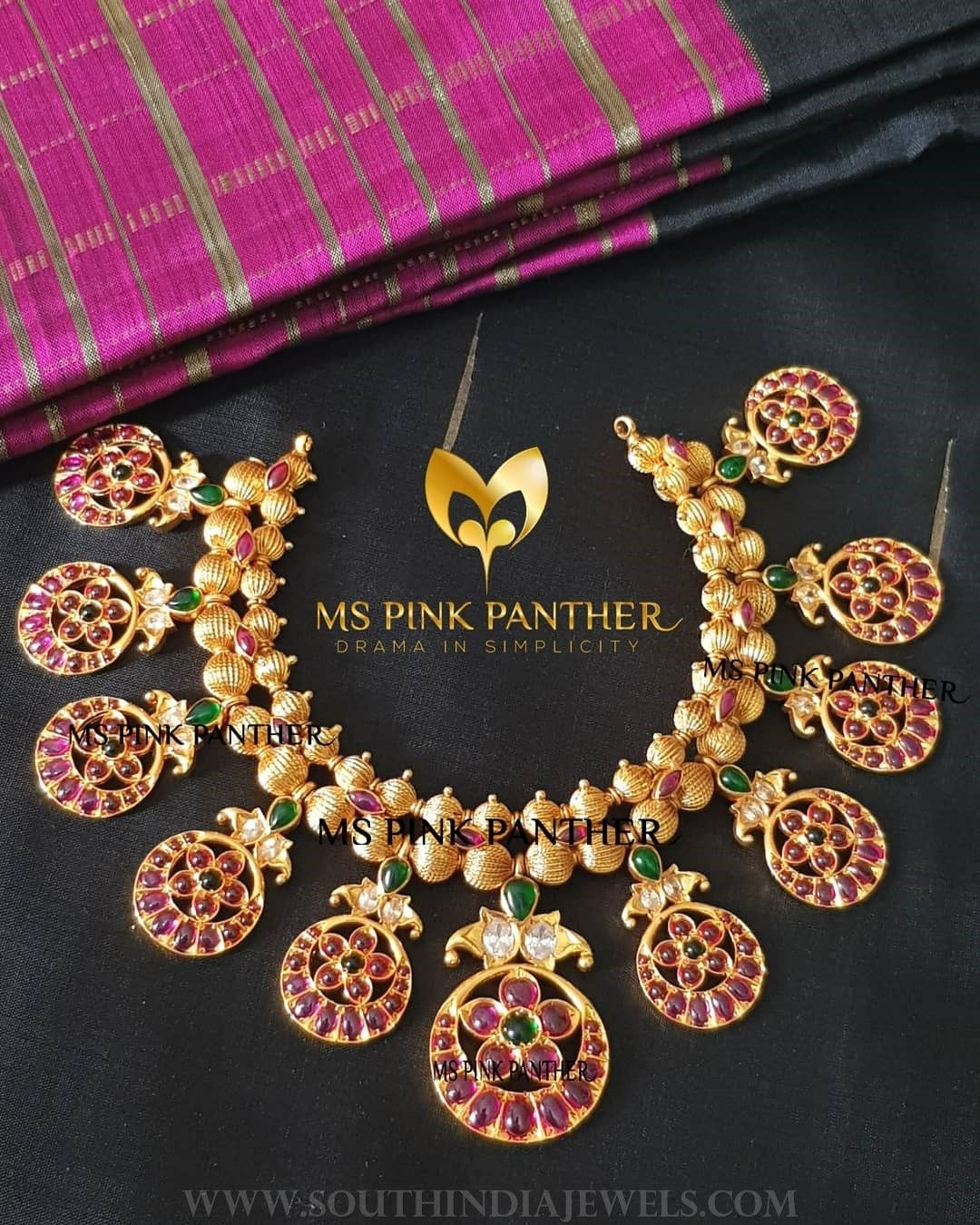 and necklaces diamond awesome prising late beautiful an parure a antique gold necklace of century ruby