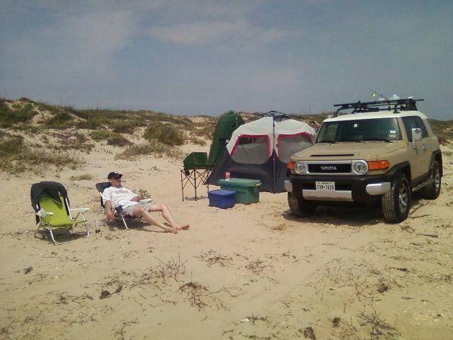 Camping At North Padre Island National Seashore Beach Camping