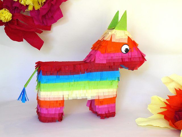 diy donkey pinata (with printable templates!!)