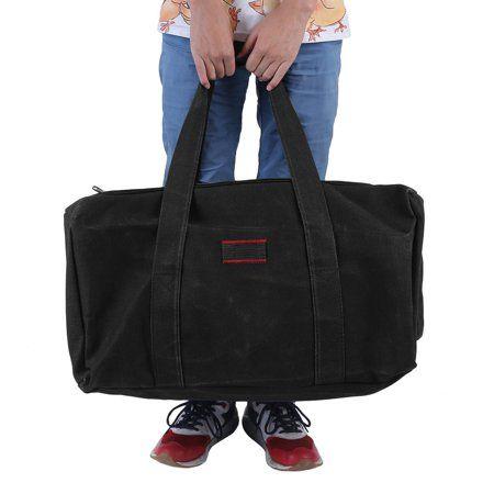 26bc1056d0 Travel Bag Suitcase Large Capacity Casual Men S Military Canvas Gym Duffle  Shoulder Bag Zipper Luggage Handbag For Travel Business Sports Black