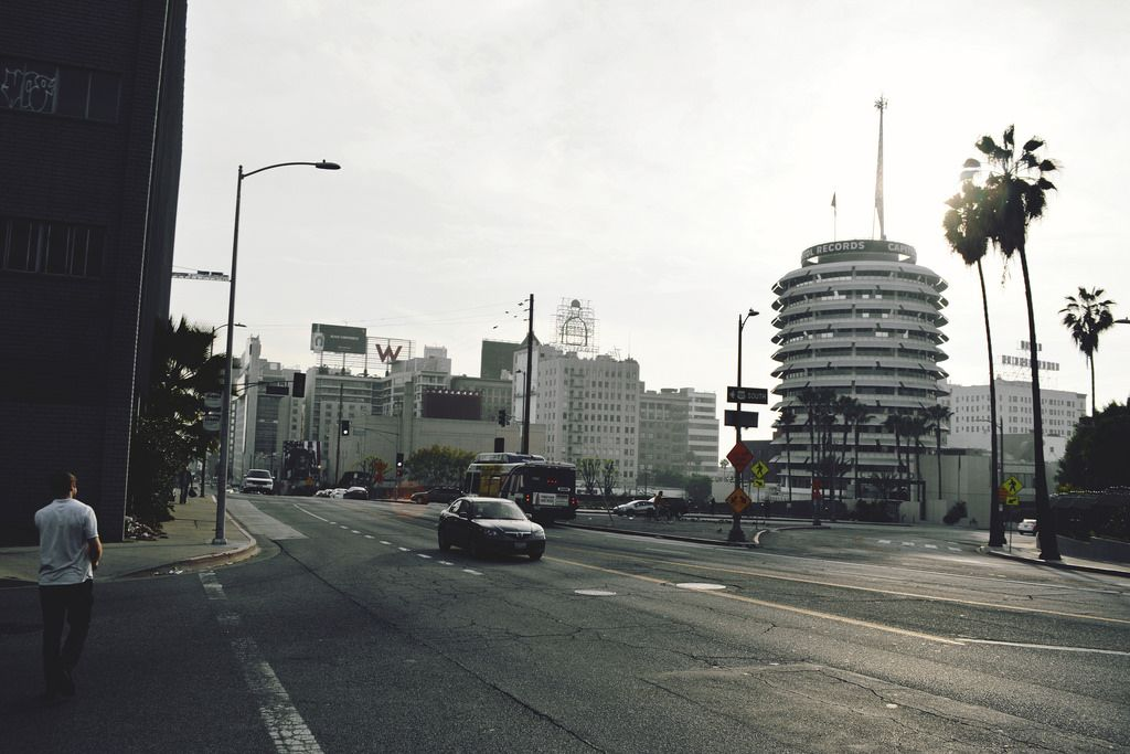 Capitol Records on the rigth