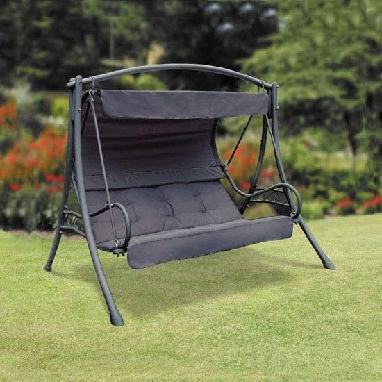 Garden Furniture Swing Seats garden furniture | swing seats & hammocks | seville 3 seater steel