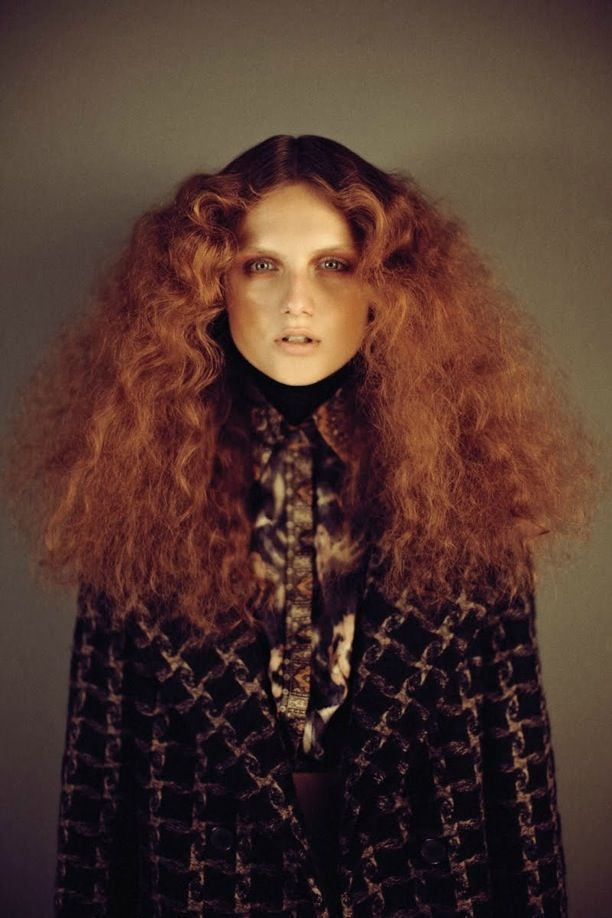 hot ginger frizz-pin it by #carden