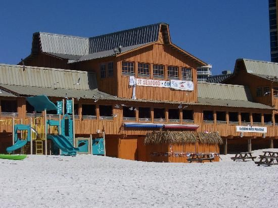 The Back Porch Restaurant In Destin Fl Directly On Beach