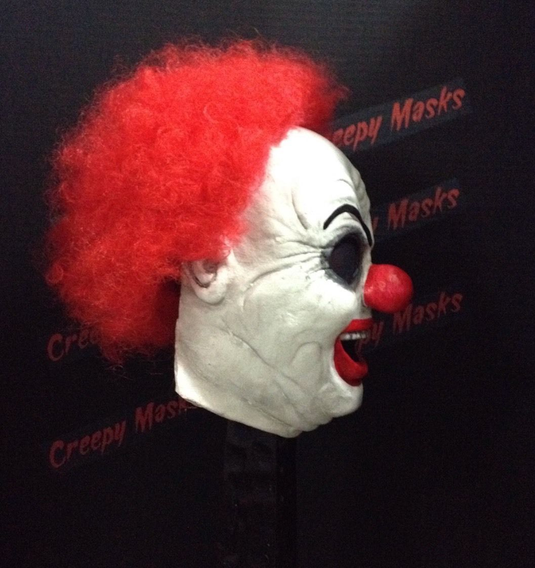 Details about Giggles Clown Mask Ghost Face jason myers freddy ...