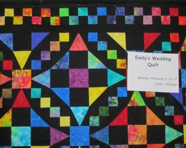 Emily 39 S Wedding Quilt Chain Of Events Chain Emily39s Events Quilt Wedding Wedding Quilt Quilts Mystery Quilt