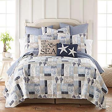 Quilts Size Twin Pattern Design Coastal Bed Bath