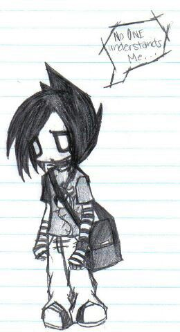 Honestly No One Does Understand Me With Images Emo Art Emo