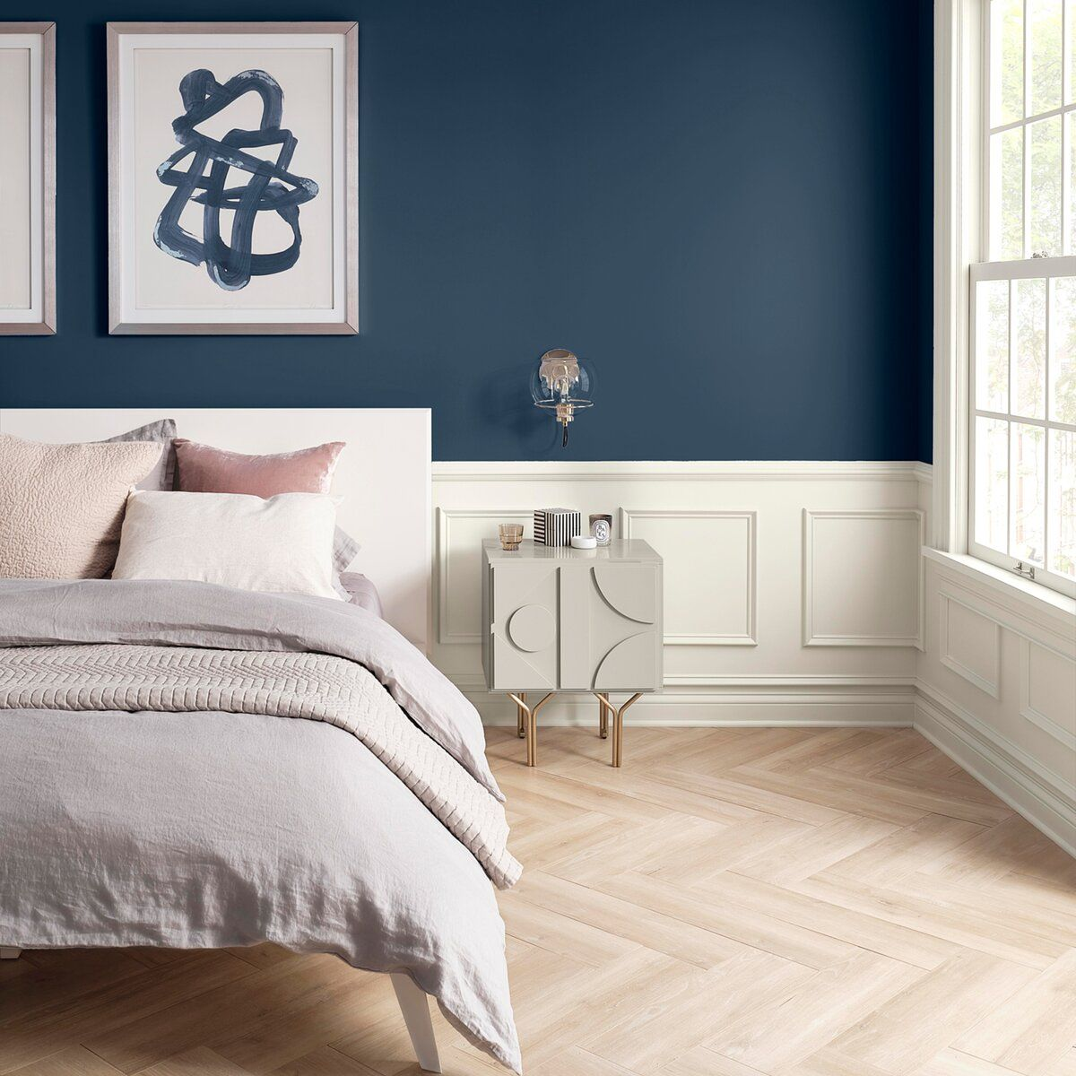 This Soothing Paint Color Is the Perfect Amount of Gray