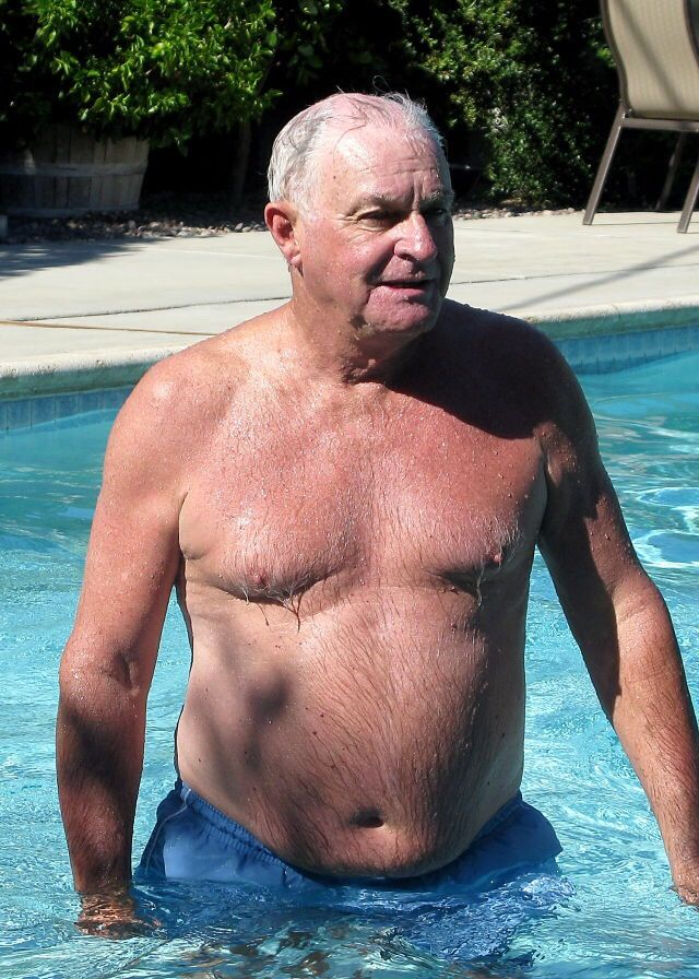 Excited naked old men — pic 6