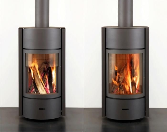 10 Easy Pieces Freestanding Wood Stoves Gardenista Wood Stove Wood Heater Hanging Fireplace