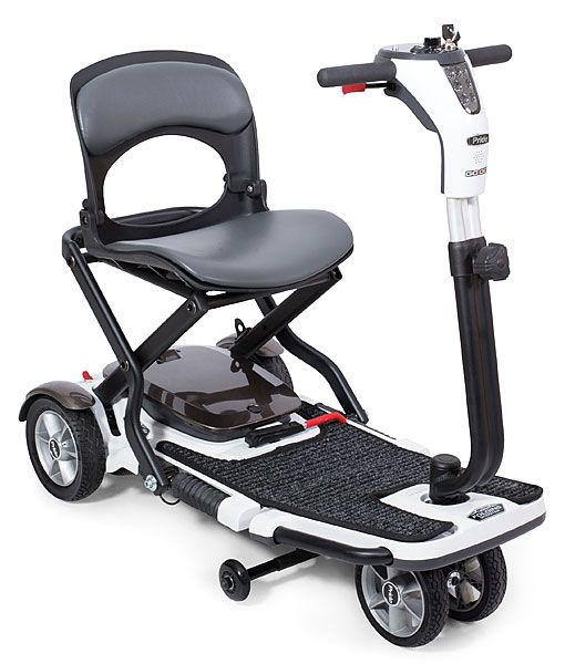 S19 Quest Deluxe Folding Mobility Travel Scooter Safe Home