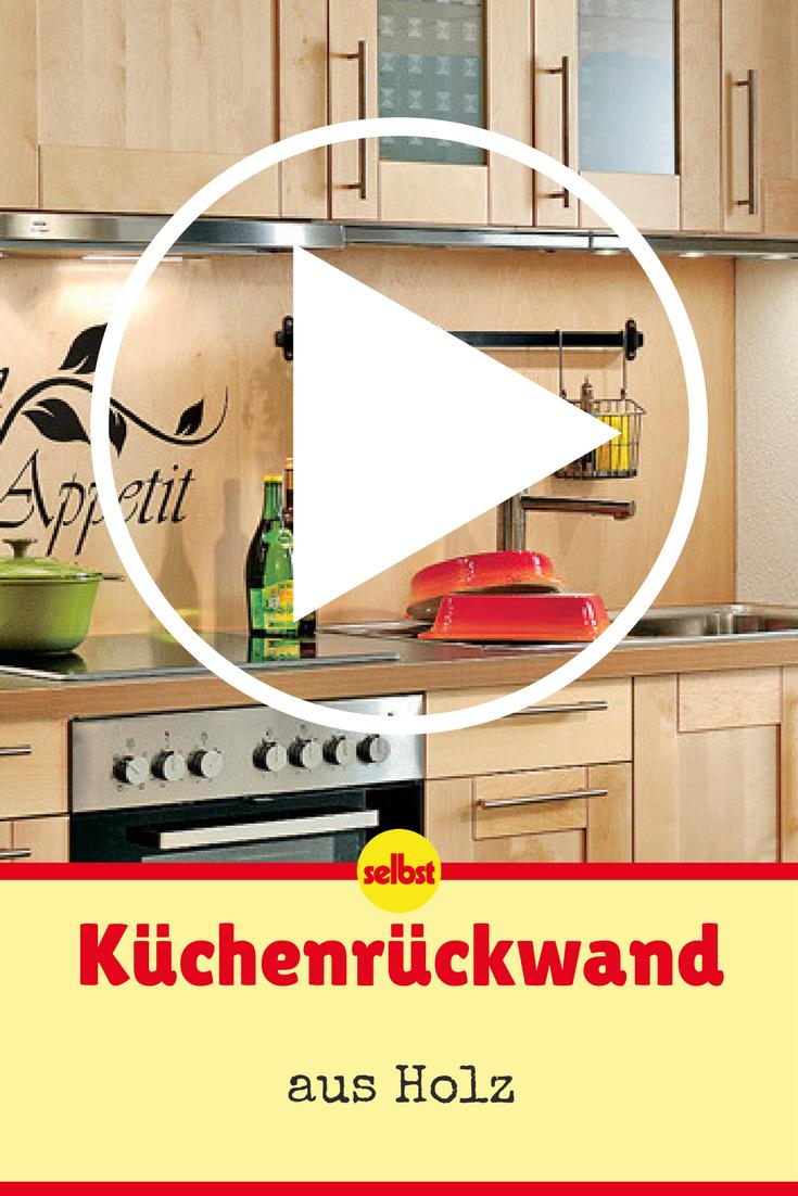 Küchenrückwand | Video-Anleitungen | Pinterest | Fliesenspiegel ...