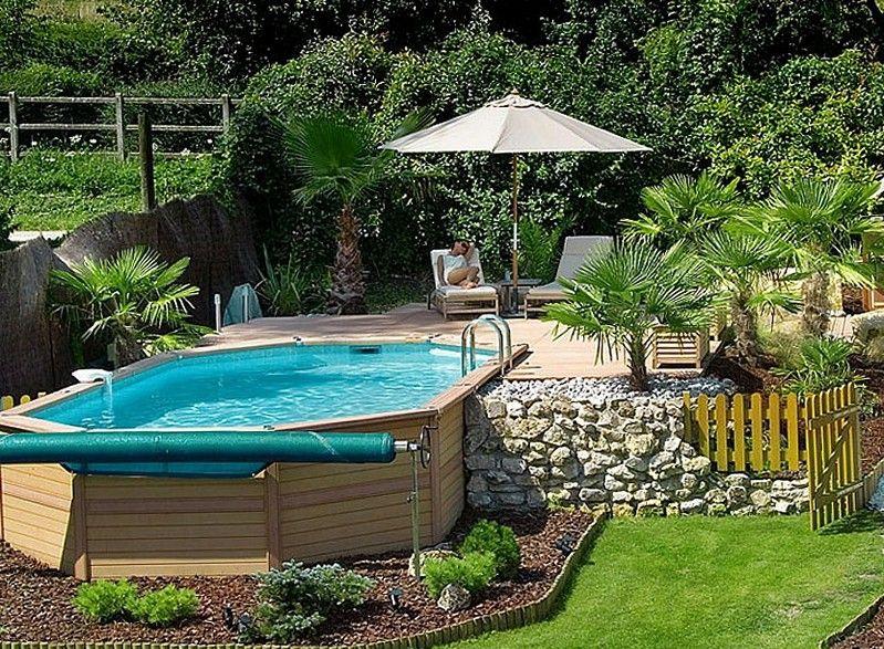 Resultado de imagen de Above Ground Pools Decks Idea | deco ...