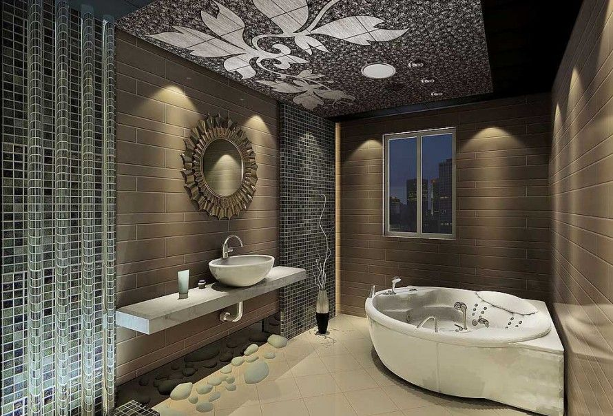A Master Bathroom Should Always Be Fit For A King Of Queen Here