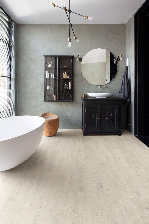 Choose The Perfect Bathroom Floor Quick Step Co Uk In 2020 Bathroom Flooring Bathroom Style Waterproof Bathroom Flooring