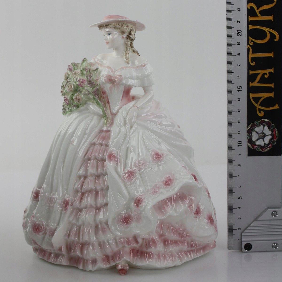 Antyk Figurka Coalport 7508402692 Oficjalne Archiwum Allegro Victorian Dress Dresses Fashion