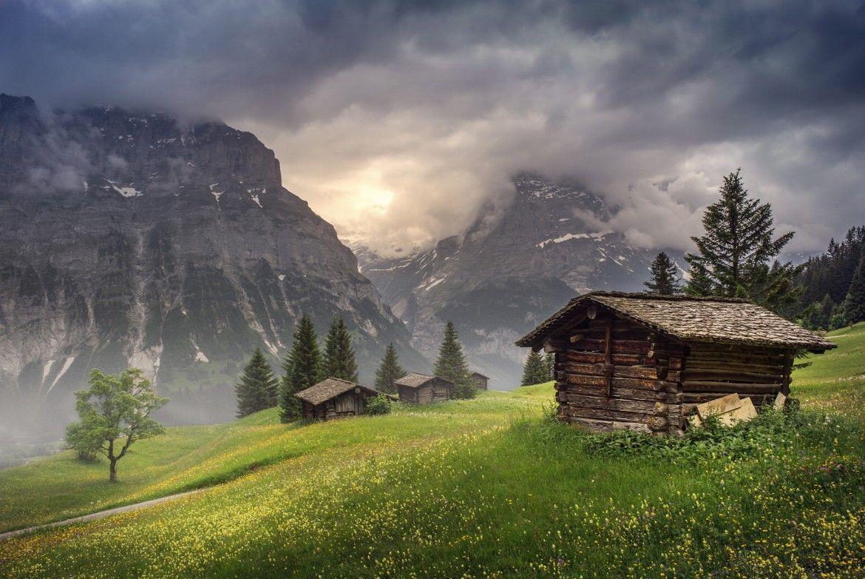 The Rolling Hills of Upper Grindelwald, Switzerland