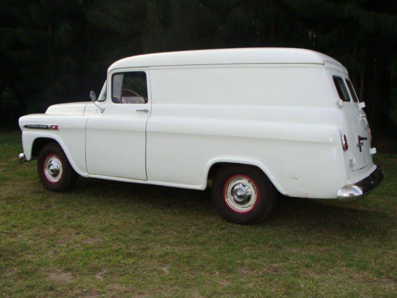 1959 Chevy 3100 Apache Panel Truck Panel Truck Mini Van Chevy Hhr