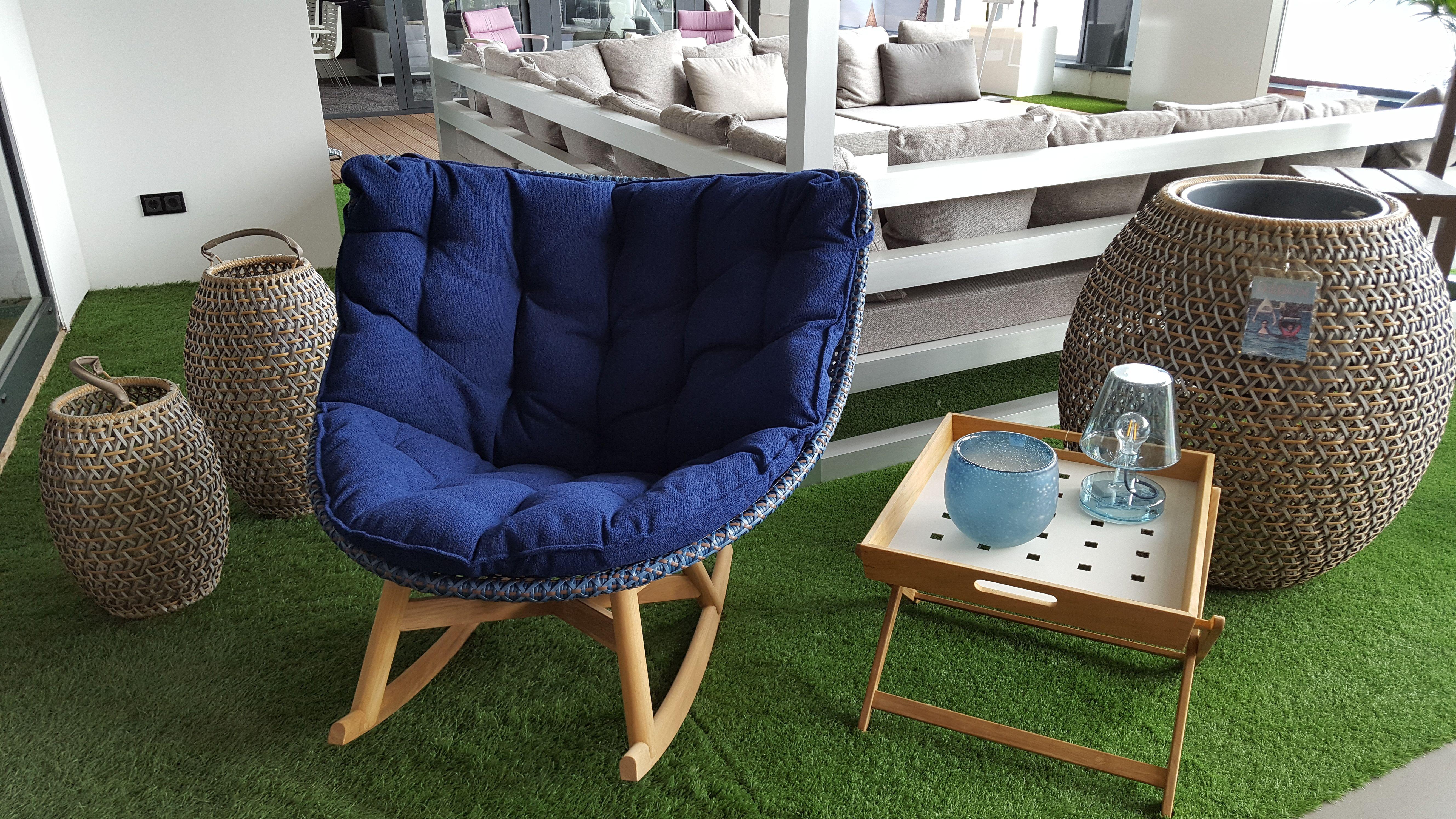 Rocking Chair Mbrace Von Dedon