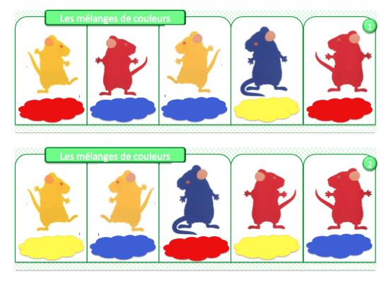 Extrêmement 3 souris peintres- exploitation d'album PS | exploitations des  PX78