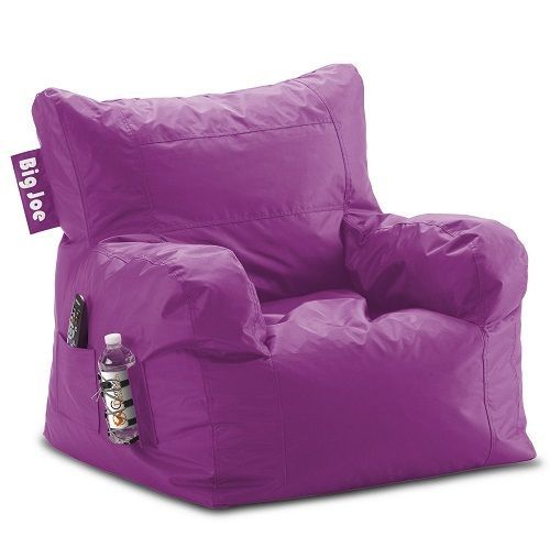 Big Gaming Chair Purple Childs Lounge Kids Bedroom Furniture Girls ...
