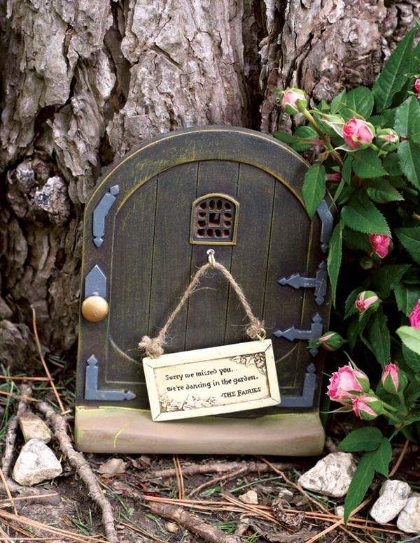 awesome garden fairy doors ideas tutorial step by step pictures