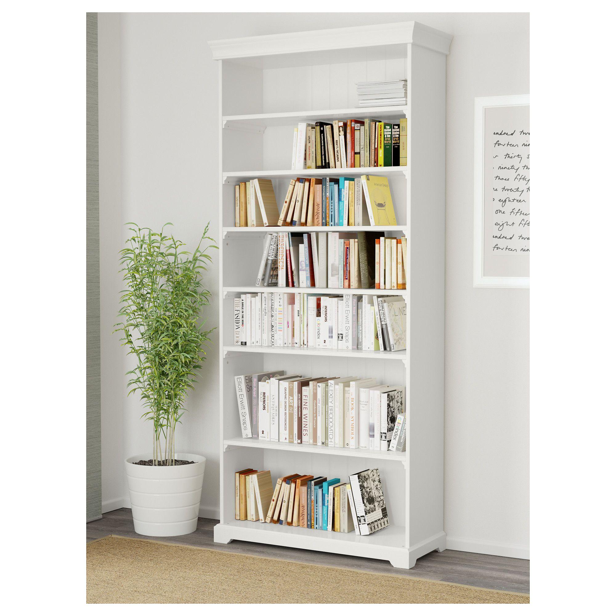 Liatorp Bookcase White 96×214 Cm # Muebles Liatorp Segunda Mano