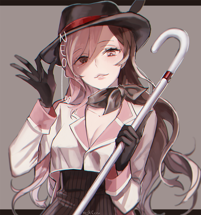Neo Tipping Her Hat to Her Many Admirers mistEcru] RWBY