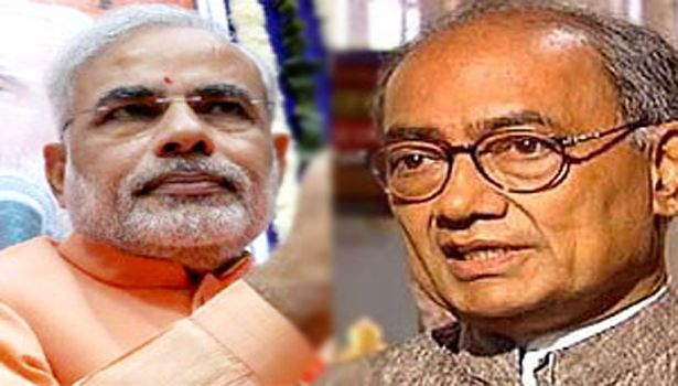 Digvijay: Modi was not an issue for Congress