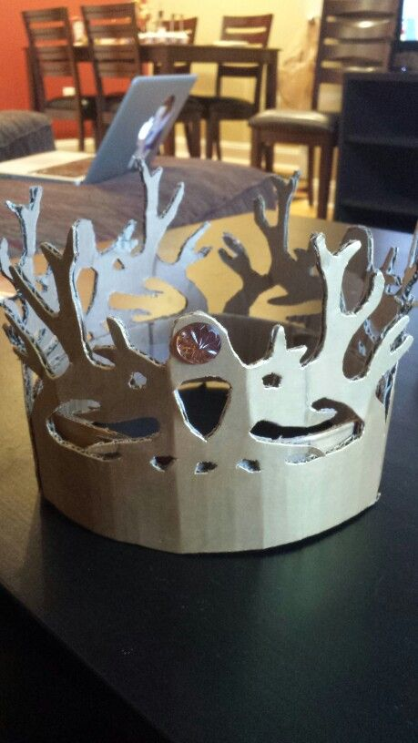 Game Of Thrones Crown Game Of Thrones Pinterest Craft