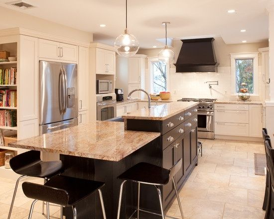 Multi Level Kitchen Islands - Yahoo Image Search Results | let's ...