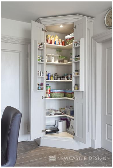 pantry cupboard storage